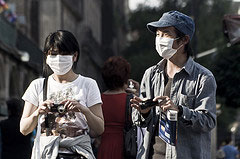 インフルエンザ蔓延